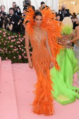 Mandatory Credit: Photo by David Fisher/REX/Shutterstock (10225566gw) Kendall Jenner Costume Institute Benefit celebrating the opening of Camp: Notes on Fashion, Arrivals, The Metropolitan Museum of Art, New York, USA - 06 May 2019