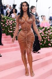 Mandatory Credit: Photo by David Fisher/REX/Shutterstock (10225566ge) Kim Kardashian West Costume Institute Benefit celebrating the opening of Camp: Notes on Fashion, Arrivals, The Metropolitan Museum of Art, New York, USA - 06 May 2019