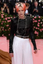 Mandatory Credit: Photo by David Fisher/REX/Shutterstock (10225566hq) Kristen Stewart Costume Institute Benefit celebrating the opening of Camp: Notes on Fashion, Arrivals, The Metropolitan Museum of Art, New York, USA - 06 May 2019