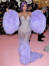 Mandatory Credit: Photo by Matt Baron/REX/Shutterstock (10225578ho) Kylie Jenner Costume Institute Benefit celebrating the opening of Camp: Notes on Fashion, Arrivals, The Metropolitan Museum of Art, New York, USA - 06 May 2019