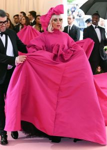 Mandatory Credit: Photo by David Fisher/REX/Shutterstock (10225566b) Lady Gaga Costume Institute Benefit celebrating the opening of Camp: Notes on Fashion, Arrivals, The Metropolitan Museum of Art, New York, USA - 06 May 2019