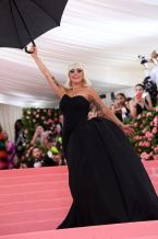 Mandatory Credit: Photo by David Fisher/REX/Shutterstock (10225566c) Lady Gaga Costume Institute Benefit celebrating the opening of Camp: Notes on Fashion, Arrivals, The Metropolitan Museum of Art, New York, USA - 06 May 2019
