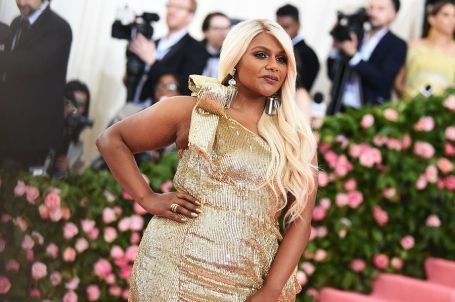 Mandatory Credit: Photo by Stephen Lovekin/BEI/REX/Shutterstock (10225581cn) Mindy Kaling Costume Institute Benefit celebrating the opening of Camp: Notes on Fashion, Arrivals, The Metropolitan Museum of Art, New York, USA - 06 May 2019