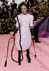 """Mandatory Credit: Photo by Charles Sykes/Invision/AP/REX/Shutterstock (10229712gz) Tessa Thompson attends The Metropolitan Museum of Art's Costume Institute benefit gala celebrating the opening of the """"Camp: Notes on Fashion"""" exhibition, in New York 2019 MET Museum Costume Institute Benefit Gala, New York, USA - 06 May 2019"""