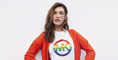 Michael Kors. #MKGO Rainbow, Bella Hadid_Low Resolution