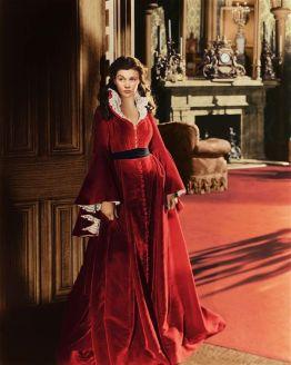12. E O Vento Levou - Vestido Scarlett O'Hara by Walter Plumkett @ Reprodução (2)