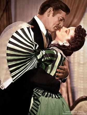 16. E O Vento Levou - Vestido Scarlett O'Hara by Walter Plumkett @ Reprodução (2)