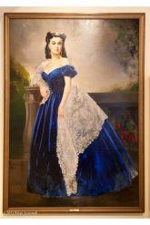 17. E O Vento Levou - Vestido Scarlett O'Hara by Walter Plumkett @ Reprodução
