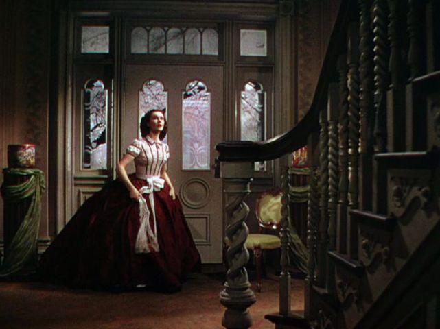 19. E O Vento Levou - Vestido Scarlett O'Hara by Walter Plumkett @ Reprodução