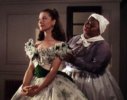 2. E O Vento Levou - Croqui Vestido Scarlett O'Hara by Walter Plumkett @ Reprodução (1)