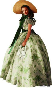 2. E O Vento Levou - Vestido Scarlett O'Hara by Walter Plumkett @ Reprodução (1)