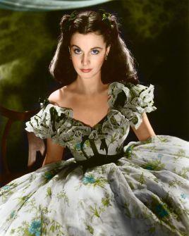 2. E O Vento Levou - Vestido Scarlett O'Hara by Walter Plumkett @ Reprodução (4)
