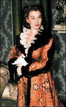 20. E O Vento Levou - Vestido Scarlett O'Hara by Walter Plumkett @ Reprodução