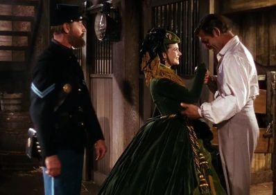 5. E O Vento Levou - Vestido Scarlett O'Hara by Walter Plumkett @ Reprodução (1)