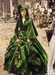 5. E O Vento Levou - Vestido Scarlett O'Hara by Walter Plumkett @ Reprodução (2)