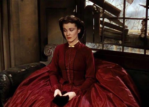 6. E O Vento Levou - Vestido Scarlett O'Hara by Walter Plumkett @ Reprodução