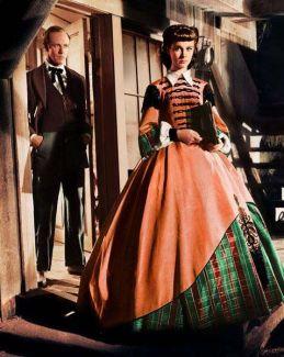 8. E O Vento Levou - Vestido Scarlett O'Hara by Walter Plumkett @ Reprodução (12)