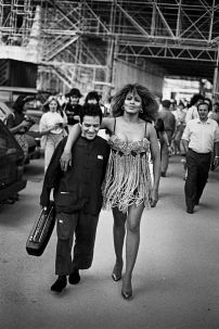 Azzedine Alaia e Tina Turner by Peter Lindbergh