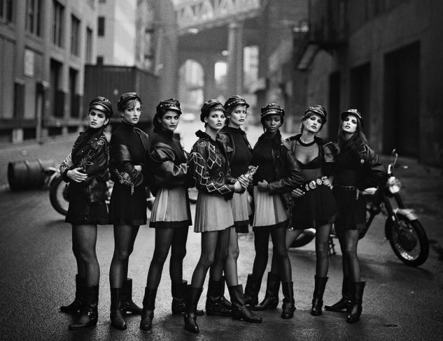 Supermodels by Peter Lindbergh