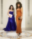 Helena Christensen and Sarah Baker star in Versace Holiday 2019 campaign
