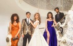 Versace channels 1980's glamour for Holiday 2019 campaign