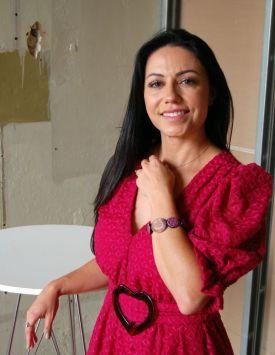 Josiane Carvalho usa bracelete Foi o Jorge Que Fez e está na 25a Edição da Campinas Decor @ MONDO MODA