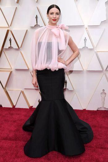 Oscar 2020 Caitriona Balfe veste Valentino @ David Fisher.Shutterstock