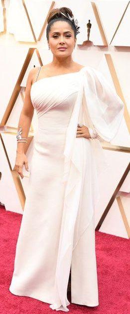 Oscar 2020 Salma Hayek veste Gucci @ Shuttestock
