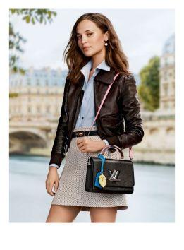 Alicia Vikander Louis Vuitton Pre Fall 2020-21 @ divulgação (#)