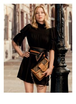 Lea Seydoux Louis Vuitton Pre Fall 2020-21 @ divulgação (#)