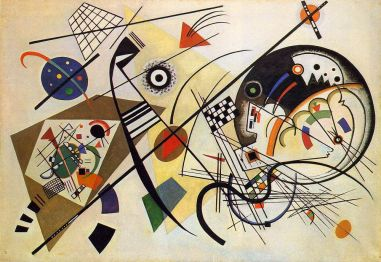 Wassily Kandinsky Transverse Line 1923 @ domínio público