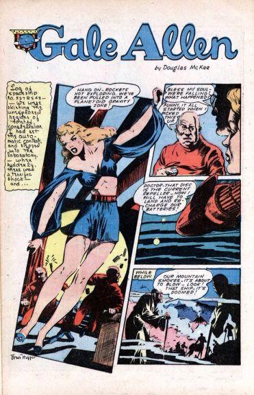 1940 Gale Allen Planet Comics