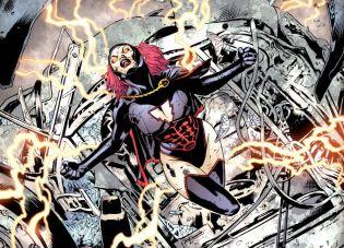 2008 Mary Marvel em Final Crisis @ Reprodução