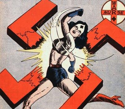 1941 Pat Parker - War Nurse - revista Speed Comics Harvey #3 @ Domíno Público