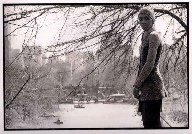Bethann Hardison - Teste de Foto - Central Park 1969 @ Bruce Weber
