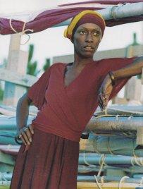 Bethann Hardison - Teste de foto em 1968 - Fotógrafo Desconhecido
