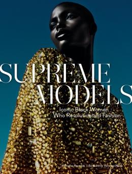 Jeneil Williams na capa do livro Supreme Models @ Txema Yeste