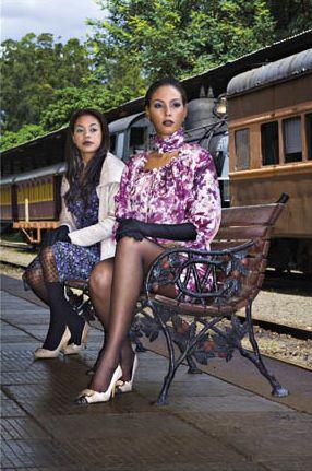 Edvania Araujo e Thalita Ivy na Revista Residenciais Maio 2010 @ Tácito Carvalho e Silva
