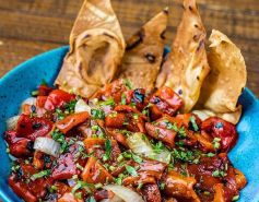 Lavash foto 2 - Salada de Pimentão