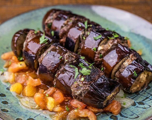 Lavash - kabab de berinjela - foto 4